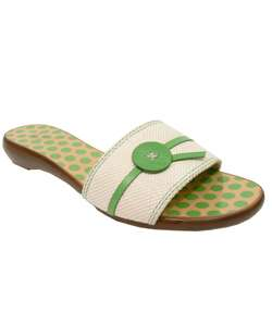 Kate Spade Toby Lime Slide Sandals