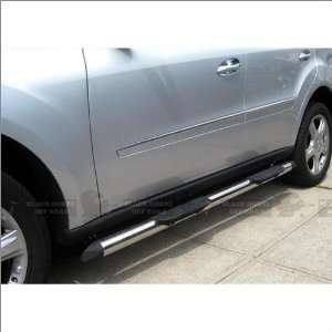 Black Horse Stainless Steel Nerf Bars 06 09 Mercedes Benz ML320