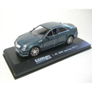 43 Die Cast 2009 Cadillac CTS V, Crystal Gray