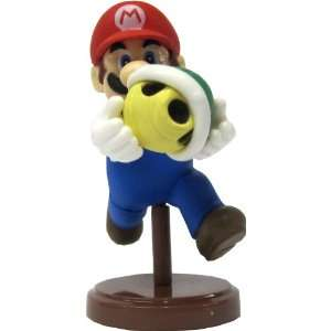 Mario Choco Egg Mini Figure   NO CANDY]   Mario Green Shell Toys