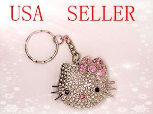 GB Jewel Hello Kitty Crystal Flash Drive USB Keychain