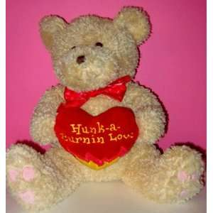 VALENTINE Plush Animal   Hunk a Burning Love Teddy Bear Toys & Games