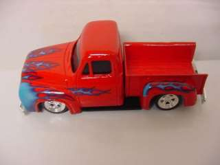 HOT ROD UNDERGROUND 1956 FORD TRUCK STEPSIDE RED 1/43 DIECAST NEW