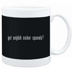 Mug Black  Got English Cocker Spaniels?  Dogs  Sports