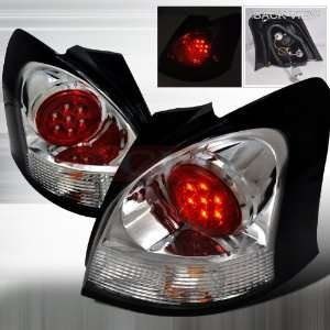 Toyota Toyota Yaris 3Dr   Chrome Led Tail Lights/ Lamps   Performance