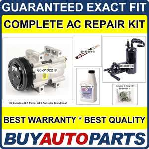FORD EXPLORER AC REPAIR KIT NEW COMPRESSOR 1995   1997