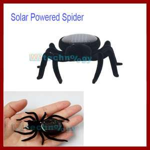 Hot Solar Powered Spider Educational Robot/Toys/Gadget Gift W