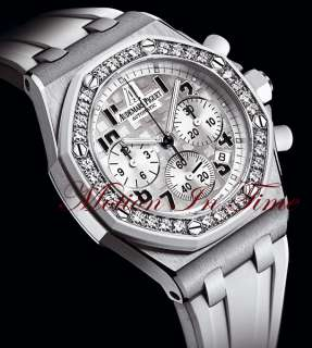 Royal Oak Offshore Ladies Diamond White Edition 26048SK