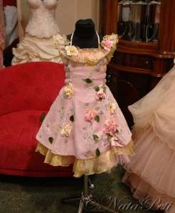 FLOWER GIRL PAGEANT PARTY HOLIDAY DRESS 2772 PINK SIZE 2 4