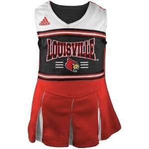 Cardinals Red Preschool Two Piece Cheerleader Dress