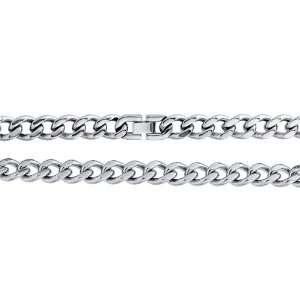 Stainless Steel Curb Chain Mens Chain Necklace 24 Jewelry