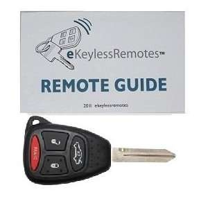 2005 2007 Jeep Grand Cherokee Remote Head Key with Do It Yourself