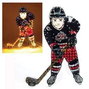 Columbus Blue Jackets NHL Light Up Player Lawn Decoration (44