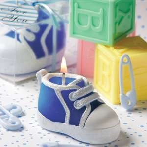 Blue Baby Bootie/Sneaker Design Candle F9427 Quantity of