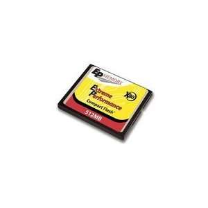 Acp Ep Memory 512MB High Speed 80XCOMPACT Flash Cardcf Electronics