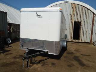 New 2012 Lark 7x14 7k Enclosed Cargo Trailer  Barn Doors
