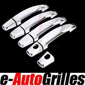 10 11 Chevy Camaro Coupe Chrome Door Handle Cover Set Trim