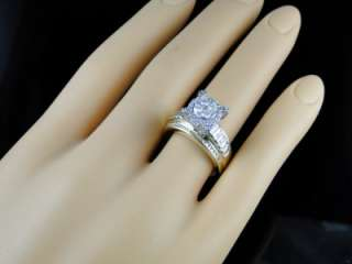 10K WOMENS YELLOW GOLD DIAMOND CARA ENGAGEMENT WEDDING BRIDAL BAND