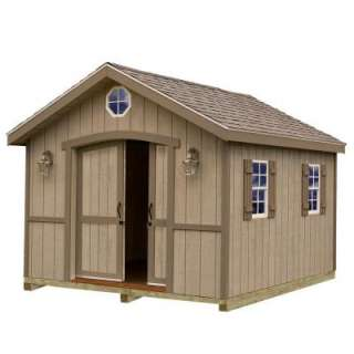 Best Barns Cambridge 10 Ft. X 16 Ft. Wood Storage Shed Kit With Floor
