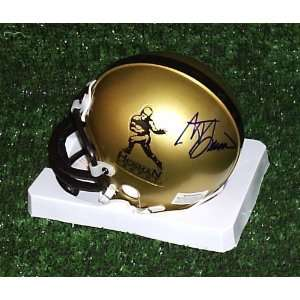 Steve Spurrier autographed Heisman mini helmet Sports