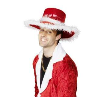 Santa Pimp Hat Adult   Costumes, 38811