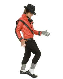 Childs Michael Jackson Thriller Jacket Costume   Boys 80s Halloween