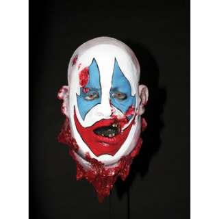 Crazy Clown Head Prop   Terrifying cut off heads that are so realistic
