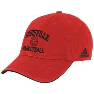 adidas Louisville Cardinals Red Collegiate Basketball