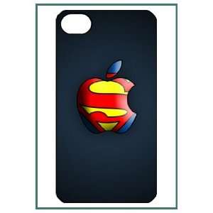 Superman Cartoon Cute Fun Lovely Figure Movie Hero Apple Logo