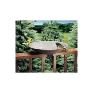 EZ Tilt To Clean Deck Mount Bird Bath   20 in. Non Heated