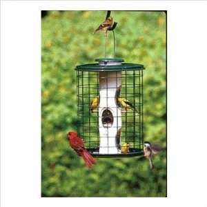 8503 Avian Series Caged Bird Feeder in Green Size 11