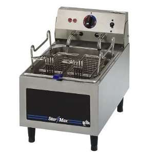Star 10 Lb Electric Commercial Counter Top Deep Fryer   11 Wide   120