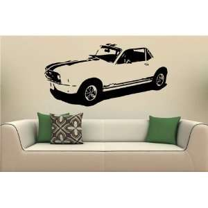 Vinyl Decal Stickers Car 1967 Ford Mustang Coupe S2025