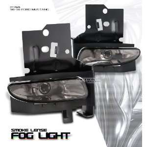 Euro/Smoke OEM SPEC. Fog Light   Ford Mustang 1994 1998 Automotive
