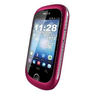 com BLU D130 PINK Dash Unlocked 3G Dual SIM Phone with Android 2.3/2