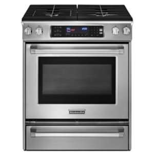 Pro Line Series 30 Width Slide In Dual Fuel Range with 4 Burners 4.1
