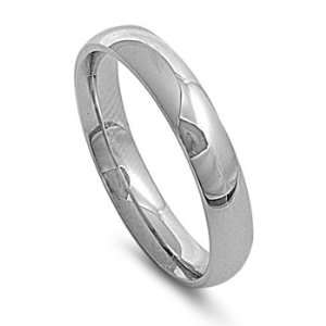 Comfort Fit Stainless Steel Unisex Men Wedding Band Ring Size 5 13 (9
