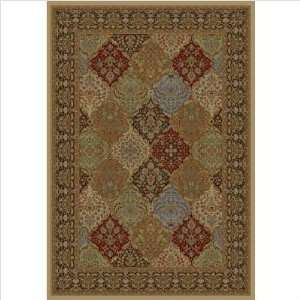 MNC8311 Monte Carlo II 8311 Mocha Panel Kerman Rug Furniture & Decor