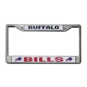 Buffalo Bills NFL Chrome License Plate Frame