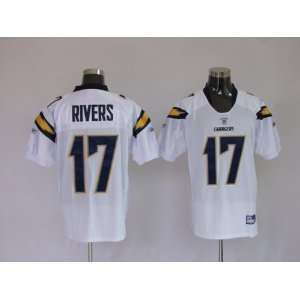 17 White NFL San Diego Charger Football Jersey Sz48