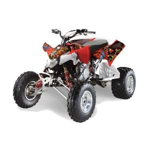 Ed Hardy AMR Racing Polaris Outlaw 450 500 525 2009 2011 ATV