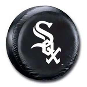 Chicago White Sox MLB Black Spare Tire Cover