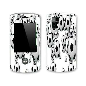 Soccer Balls Design Decal Protective Skin Sticker for LG