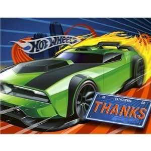 Hot Wheels High Speed Thank You Notes 8ct Toys & Games