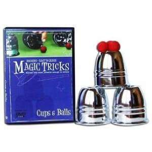 Amazing Easy To Learn Magic Tricks   Cups & Balls Toys
