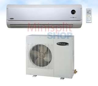 Mini Split Air Conditioner Heat Pump + Inverter 9,000 btu Soleus KFIHP