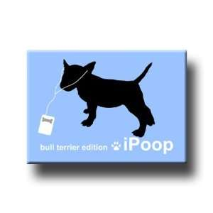 Bull Terrier iPoop Fridge Magnet