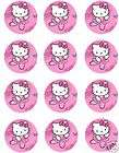 HELLO KITTY Edible Birthday CAKE Image Icing Topper items in Cool Cake