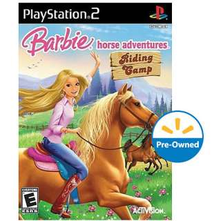 Barbie Horse Adventures Riding Camp (PS2)   Pre Owned