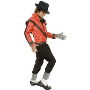 Kids Michael Jackson Thriller Jacket Halloween Costume (Sz Medium 7 10